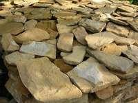 Дикий камень песчаник облицовочный 1см