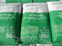 Цемент ПЦ-400 зеленый 25кг