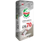 смесь гипсо-цементная самовыравнивающая lfs-74(2-10мм)25кг