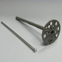 дюбель для пенопласта 100мм с метал. гвоздем