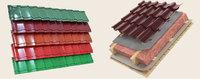Металлочерепица (монтерей) глянец полиэстер толщина - 0.5мм, купить, заказать, продажа, строитель, стройка, стройматериалы, строительные материалы, Херсон, Каховка, Новая Каховка, Цюрупинск