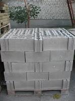 Шлакоблок перестеночный (стеновой бетонный блок) 39*19*12, купить, заказать, продажа, строитель, стройка, стройматериалы, строительные материалы, Херсон, Каховка, Новая Каховка, Цюрупинск