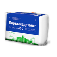 Цемент ПЦ-400 бело-синий мешок 25кг Украина